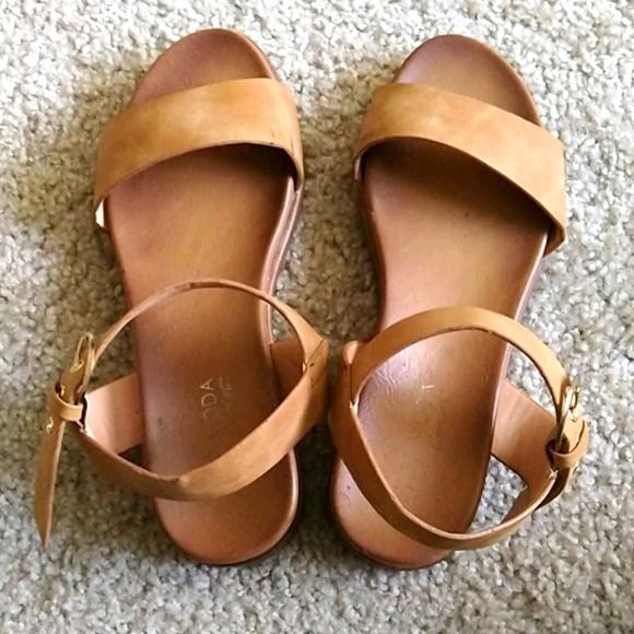 Top Moda Tan Sandals